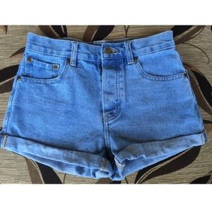 Forever 21 denim cuffed shorts 26